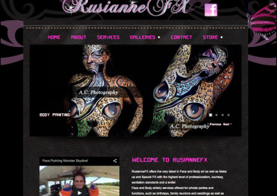 RusiannefxSpecial Effects Make-Up